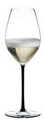 Taça Champagne Wine Glass - Linha Fatto a Mano preto