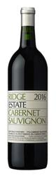 Ridge Cabernet Sauvignon Estate 2016