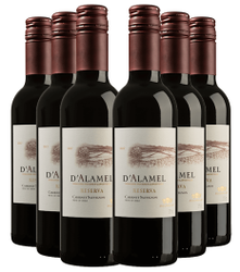 Kit com 6 garrafas de D'Alamel Cabernet ...