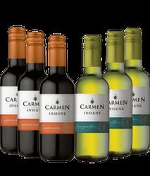 Kit com 6 garrafas de 187ml  - Viña Carm...