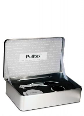 Caixa Metálica - kit com saca-rolha, corta-cápsula e corta-gota