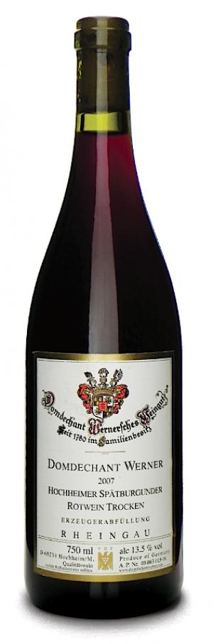 Hochheimer Spätburgunder Rotwein QbA Trocken 2013