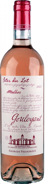 Comté Tolosan Gouleyant Malbec rosé 2017