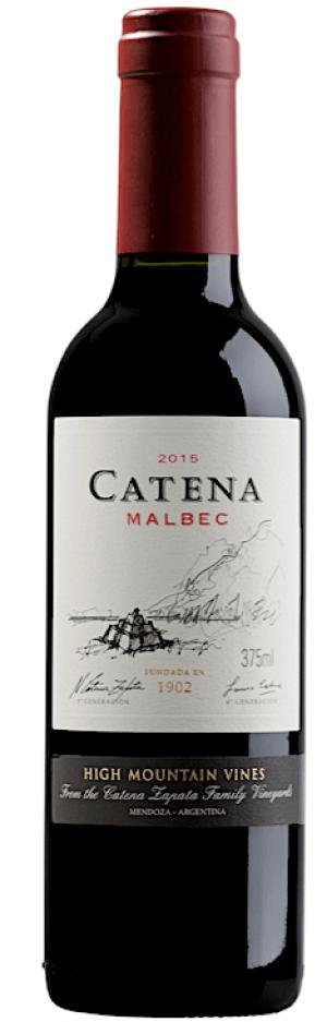 Catena Malbec 2017  - meia gfa.