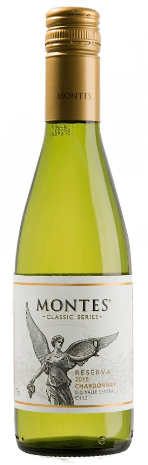 Montes Chardonnay Reserva 2018  - meia gfa.