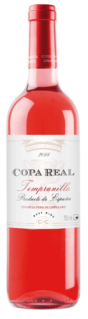 Copa Real rosado 2019