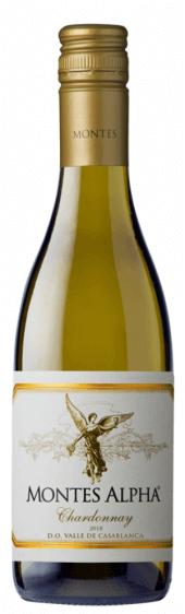 Montes Alpha Chardonnay 2018  - meia gfa.