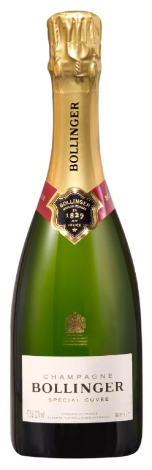 Champagne Bollinger Special Cuvée  - meia gfa.